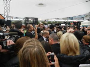 Guido-Maria Kretschmer mit seinen Fans