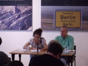 Maren Kames bei ihrer Lesung CC-BY-NC-SA 4.0 Lisa-Marie George