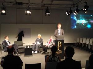 Dr. Markus Römer spricht im Business Club © Timo S.