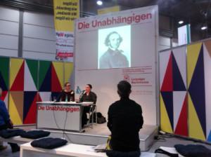 Buchpräsentation: Elke Renate Steiner: »Die anderen Mendelssohns: Karl Mendelssohn Bartholdy« – Die Unabhängigen, Halle 5, Stand E309