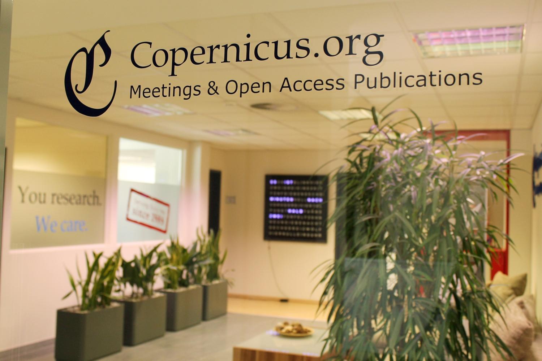 Die Jungen Verlagsmenschen zu Besuch bei Copernicus ...