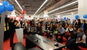 Dr. Valeska Henze halt die Ansprache zum 25. Jubiläum der BücherFrauen © Alexa Kreßmann