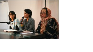 Indonesische Verlegerinnen im Gespräch