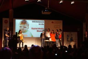 Preisträgerinnen in der Kategorie Team des Jahres: die Digital Media Women © Sandra van Lente