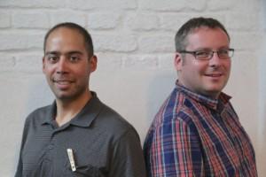 Die ersten Ehrenmitglieder: Michael Hammerer und Stephan Brünig, © Ralf Dombrowski