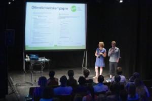 Präsentation der AG Nachwuchsrechte, © Ralf Dombrowski