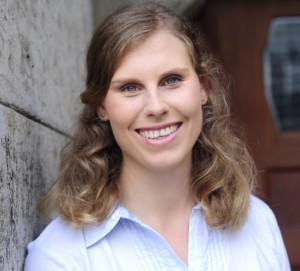 Christiane Geithner, Volontärin in der Presseabteilung beim Piper Verlag