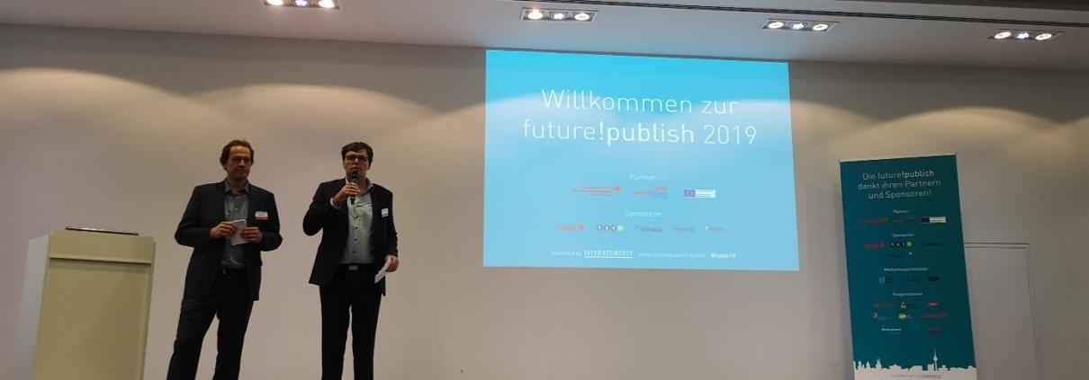 Eröffnungsrede bei der future!publish